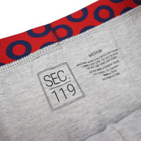 Grey Donut Boxer Briefs - Section 119