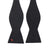 David Bowie Black Bolt Bow Tie (Self-tied) - Section 119