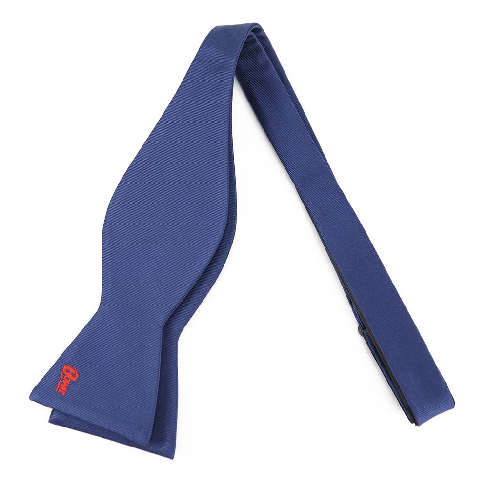 David Bowie Navy Bow Tie (Self Tied) - Section 119