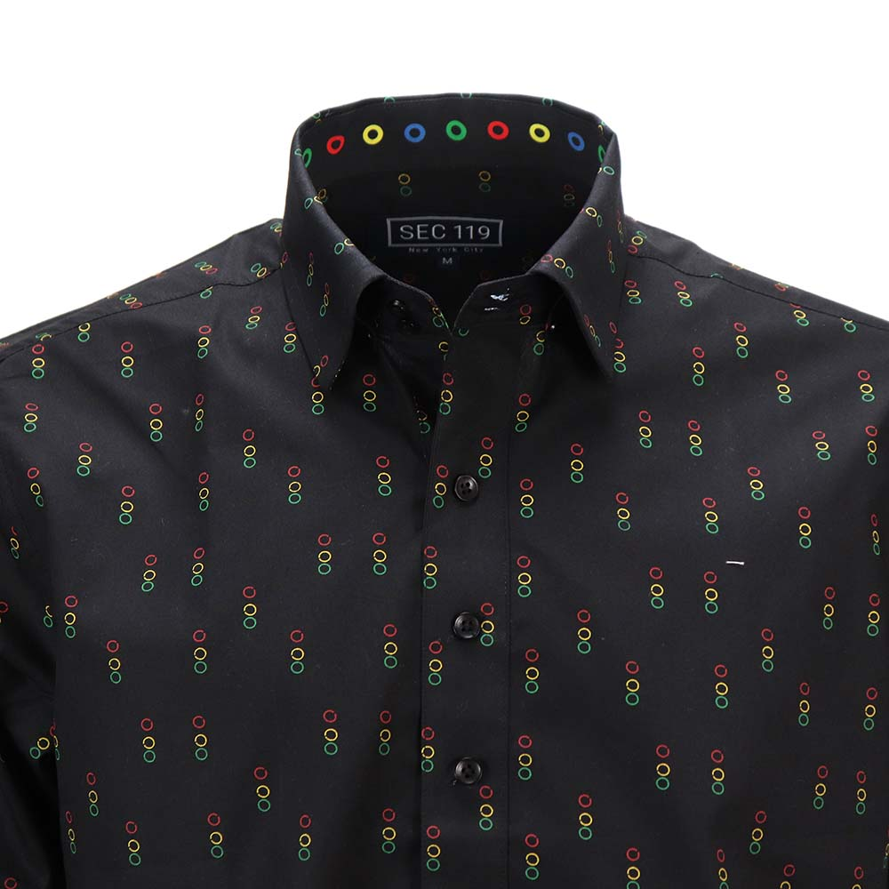 Traffic Light Donut Long-Sleeve Shirt - Section 119