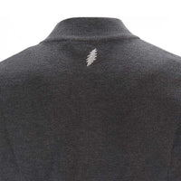 Grateful Dead Grey Bolt Quarter-Zip Sweater - Section 119