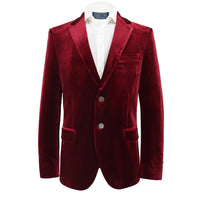 David Bowie Red Velvet Sport Coat - Section 119