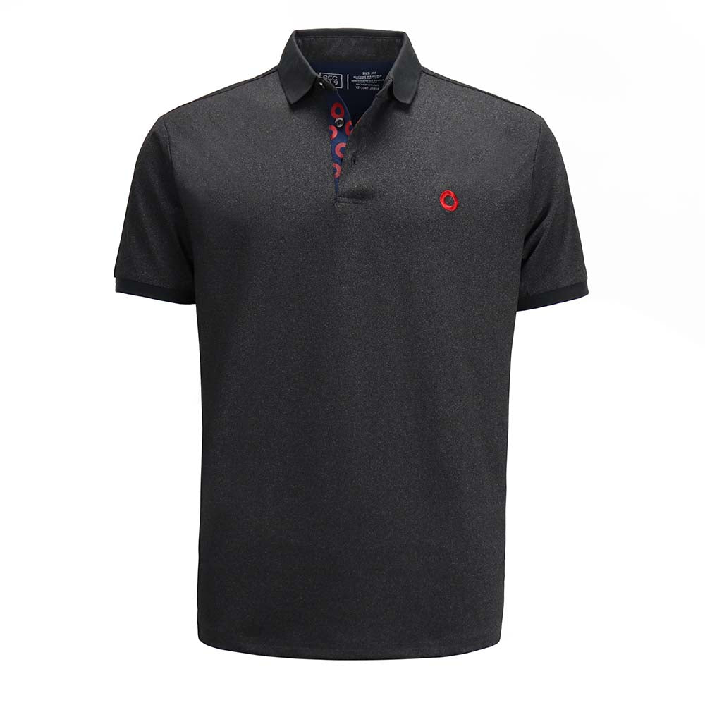 Charcoal Donut Dry Fit Polo - Section 119