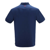 Deep Blue Donut Dry Fit Polo - Section 119