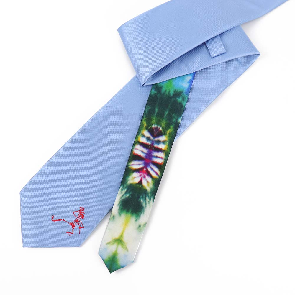 Blue Dancing Skeleton Tie - Section 119