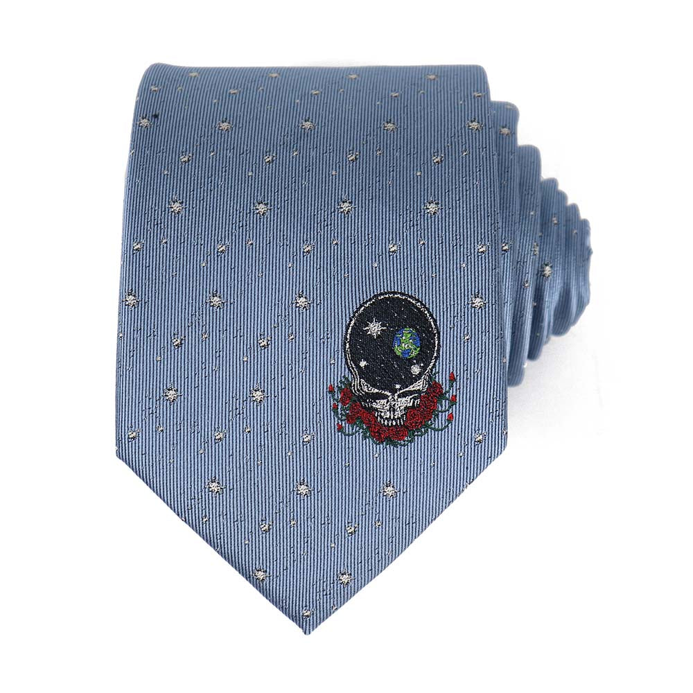 Blue Space Your Face Tie - Section 119