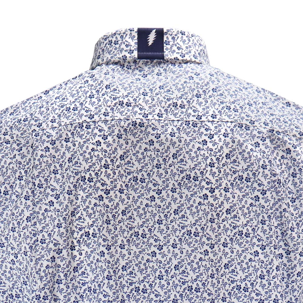 Grateful Dead Floral Short Sleeve Button-Down - Section 119