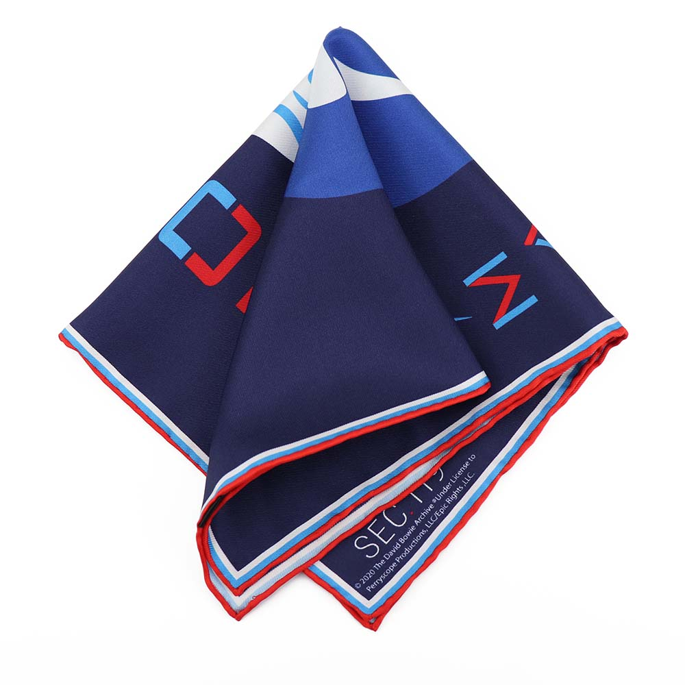 David Bowie Major Tom Pocket Square - Section 119