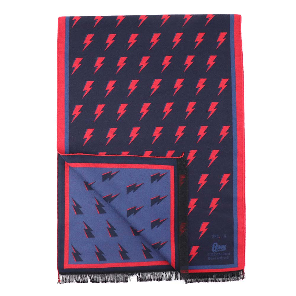 David Bowie Bolt Winter Scarf - Section 119