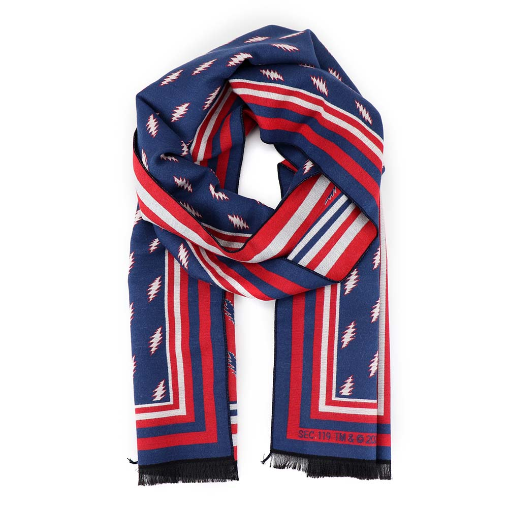 Grateful Dead 13 Point Bolt Winter Scarf - Section 119
