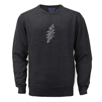 Grateful Dead Charcoal Bolt Sweater - Section 119
