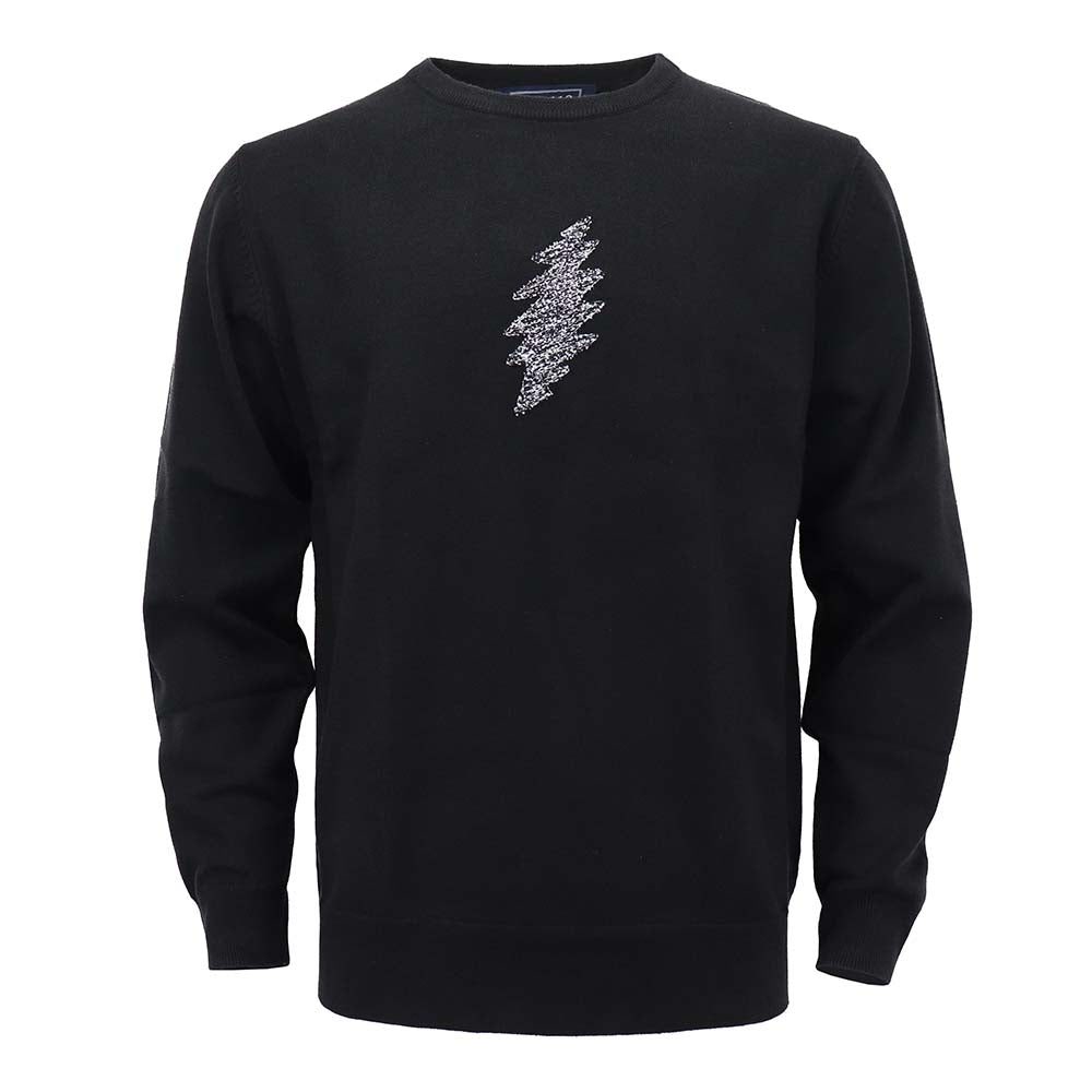 Grateful Dead Black Bolt  Sweater - Section 119