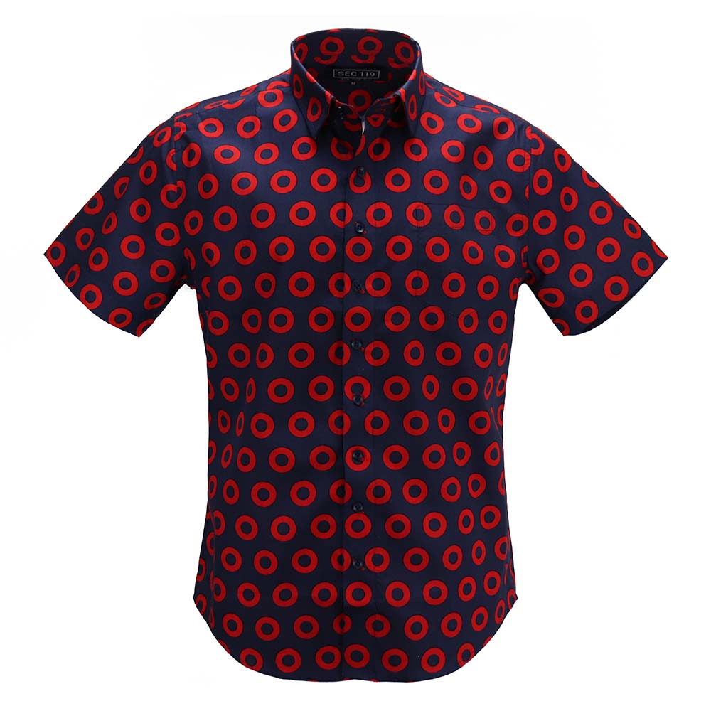 All Over Donut Short-Sleeve Shirt - Section 119