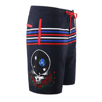 Grateful Dead Space Your Face Board Shorts - Section 119