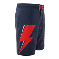 David Bowie Navy Bolt Board Shorts - Section 119