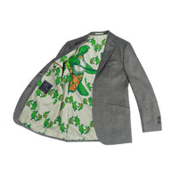 Grateful Dead Grey Nailhead Sport Coat - Section 119