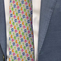 Grey Dancing Bears Tie - Section 119