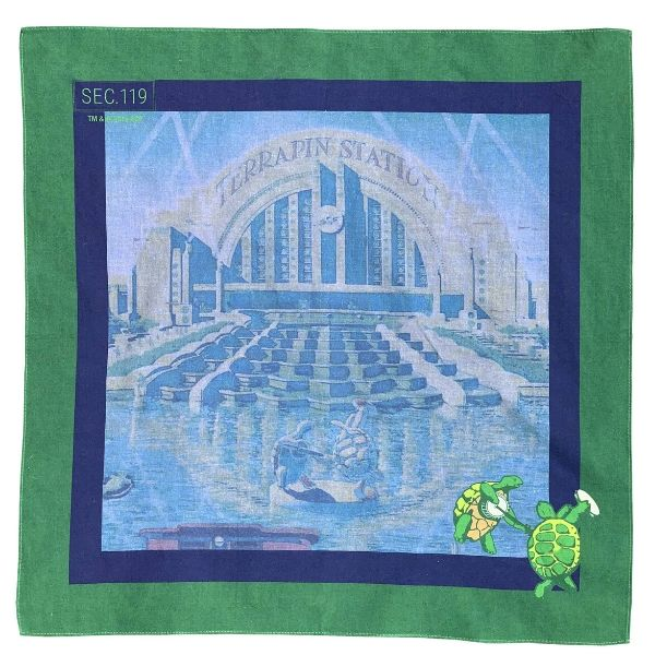 Grateful Dead Terrapin Bandana - Section 119