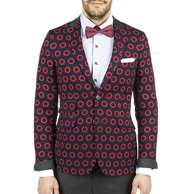 All Over Donut Sport Coat Donut2 vendor-unknown 36 Regular Slim