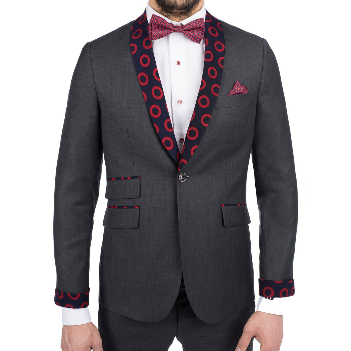 Charcoal Donut Sport Coat - Section 119