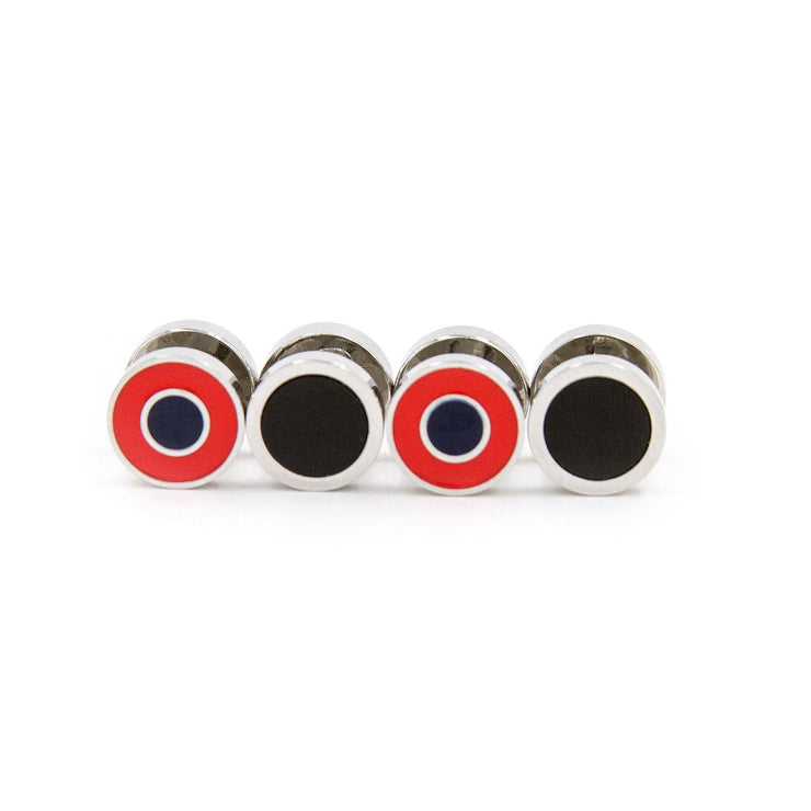 Donut Double Sided Tuxedo Studs Accessories vendor-unknown