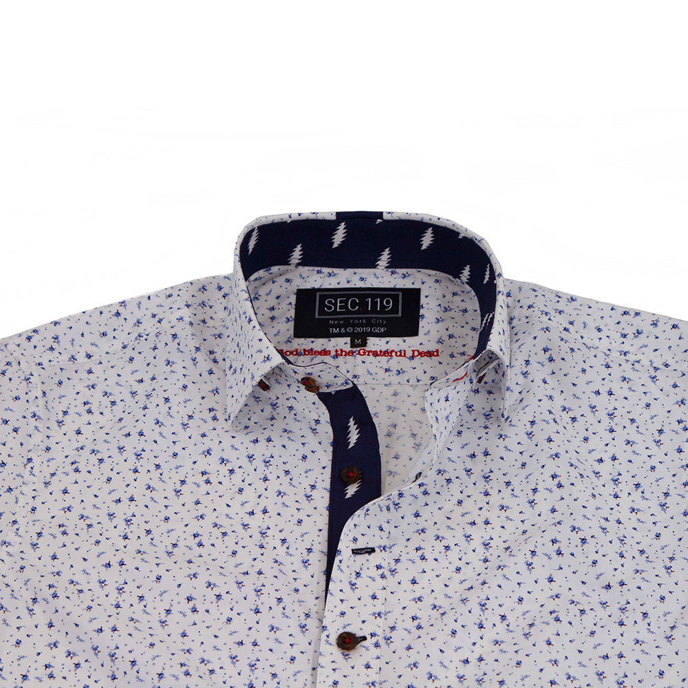Grateful Dead Floral Button-Down