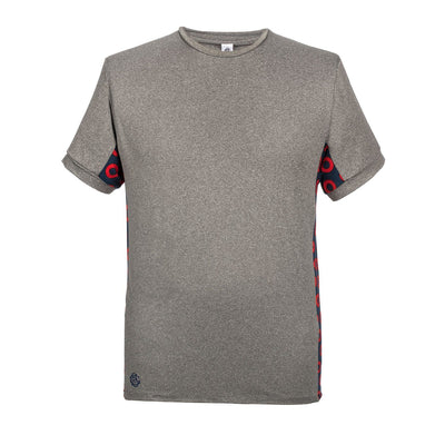 Heather grey donut dri-fit shirt by Section 119
