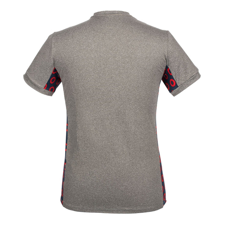 Heather Grey Donut Dry Fit Shirt Shirt Section 119