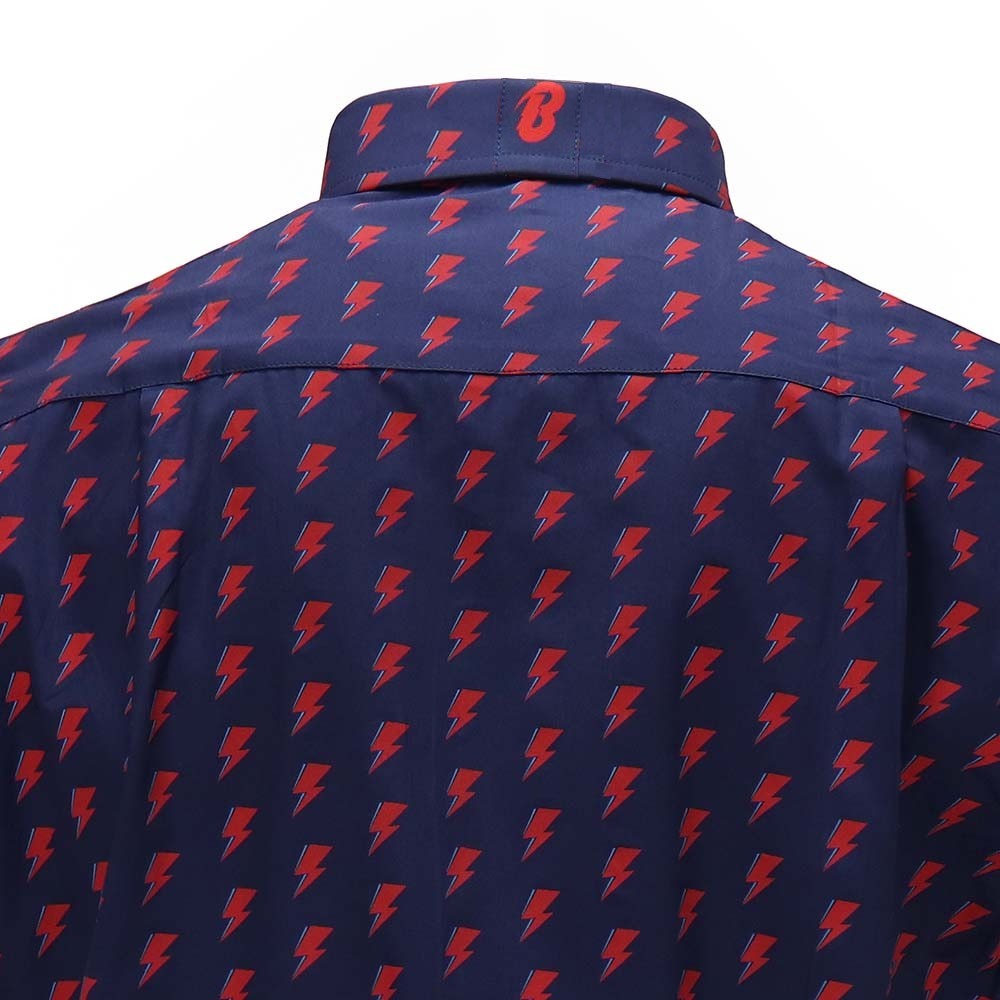 David Bowie All Over Bolt Button Down - Section 119