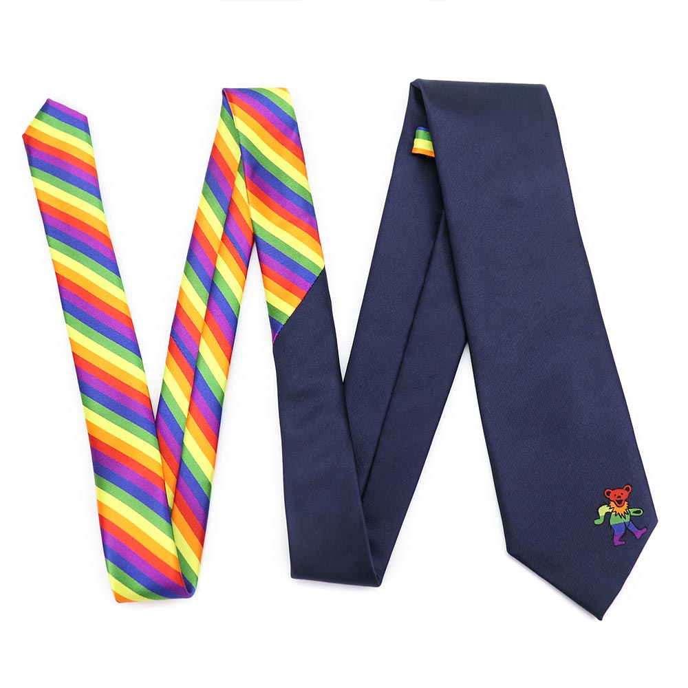 Rainbow Dancing Bear Tie - Section 119