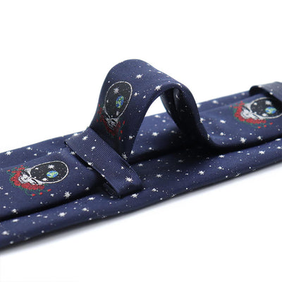 Navy - Grateful Dead - Space Your Face Tie - Section 119