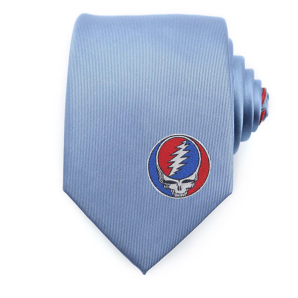 Blue Grateful Dead Steal Your Face Tie by Sec.119