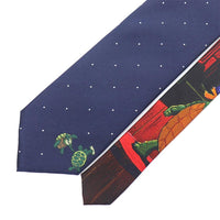 Grateful Dead Navy Dotted Terrapin Tie - Section 119