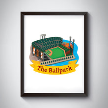 Load image into Gallery viewer, Ball Park Art Print