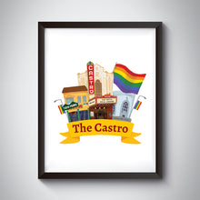 Load image into Gallery viewer, Castro Art Print
