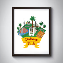 Load image into Gallery viewer, Dolores Park Art Print