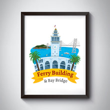 Load image into Gallery viewer, Ferry Building Art Print