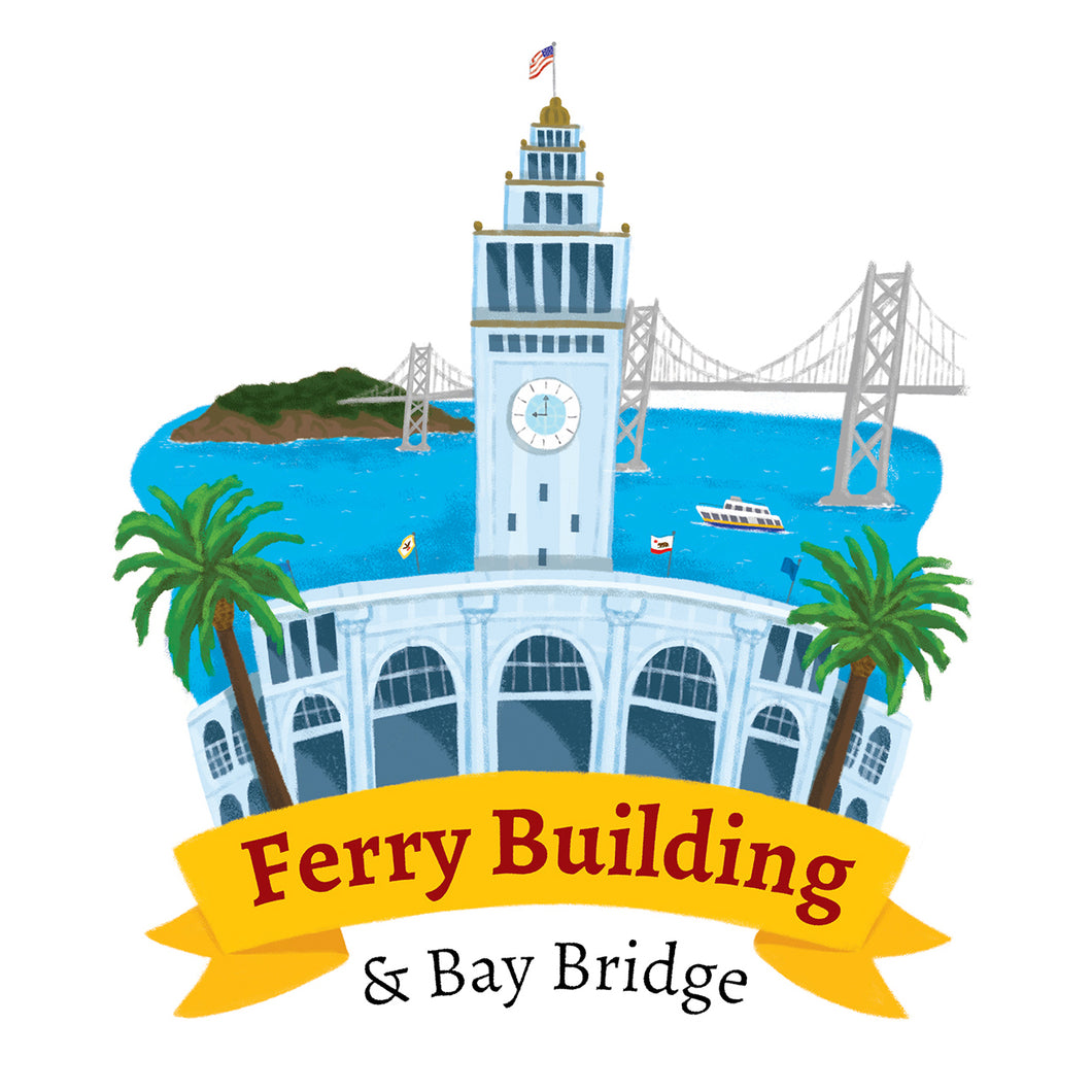 Ferry Building Art Print