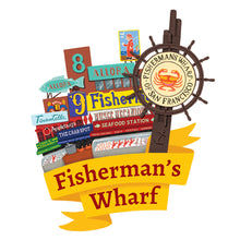 Load image into Gallery viewer, Fisherman's Wharf Art Print