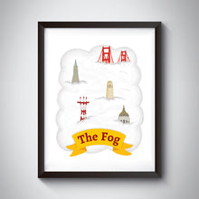 Load image into Gallery viewer, Fog Art Print