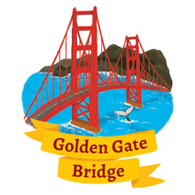 Load image into Gallery viewer, Golden Gate Bridge Art Print