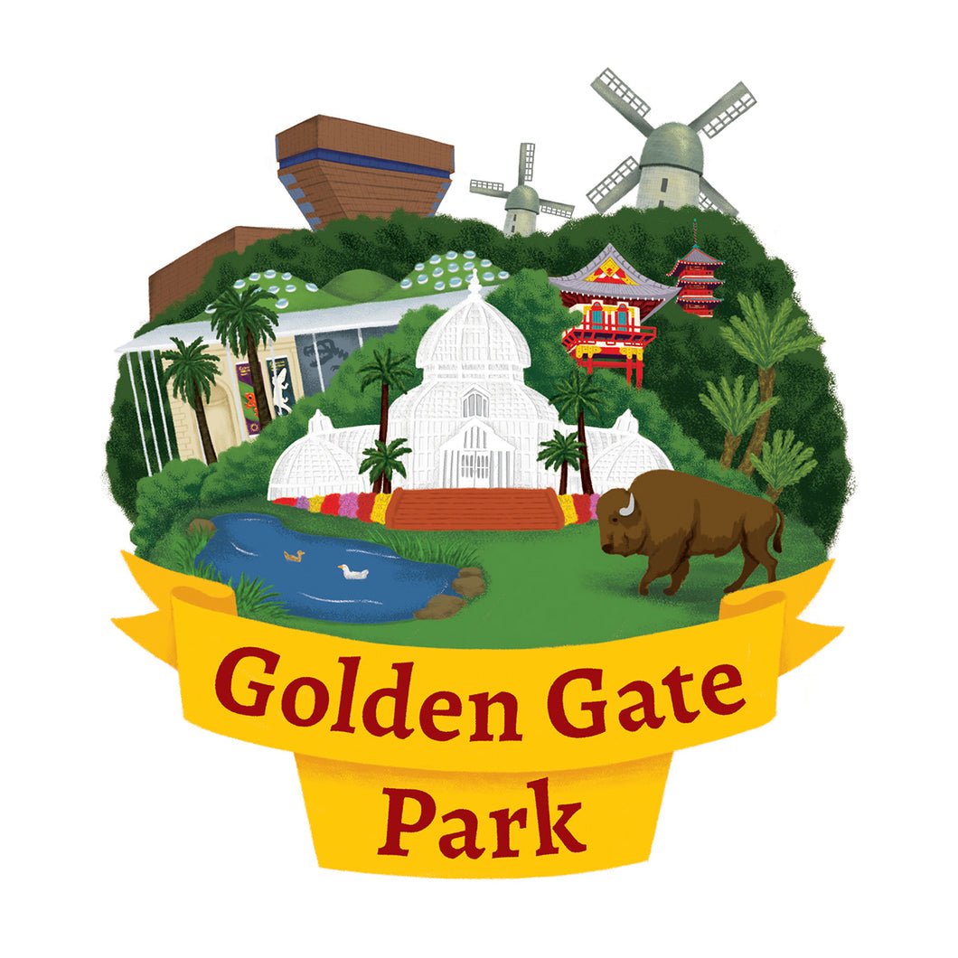 Golden Gate Park Art Print