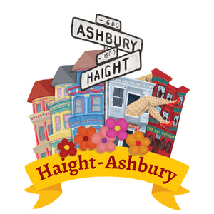 Haight-Ashbury Art Print