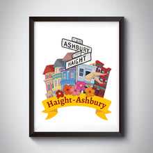 Load image into Gallery viewer, Haight-Ashbury Art Print