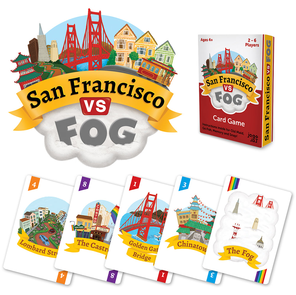 San Francisco Vs Fog - card game