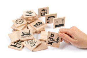 San Francisco Memory Game
