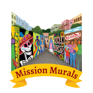 Mission Murals Art Print