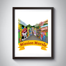 Load image into Gallery viewer, Mission Murals Art Print