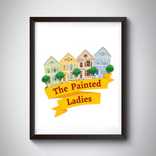 Load image into Gallery viewer, Painted Ladies Art Print