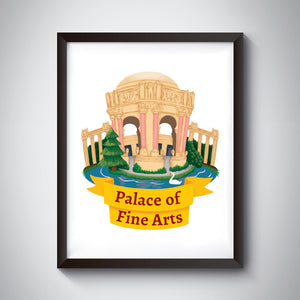 Palace of Fine Arts Print